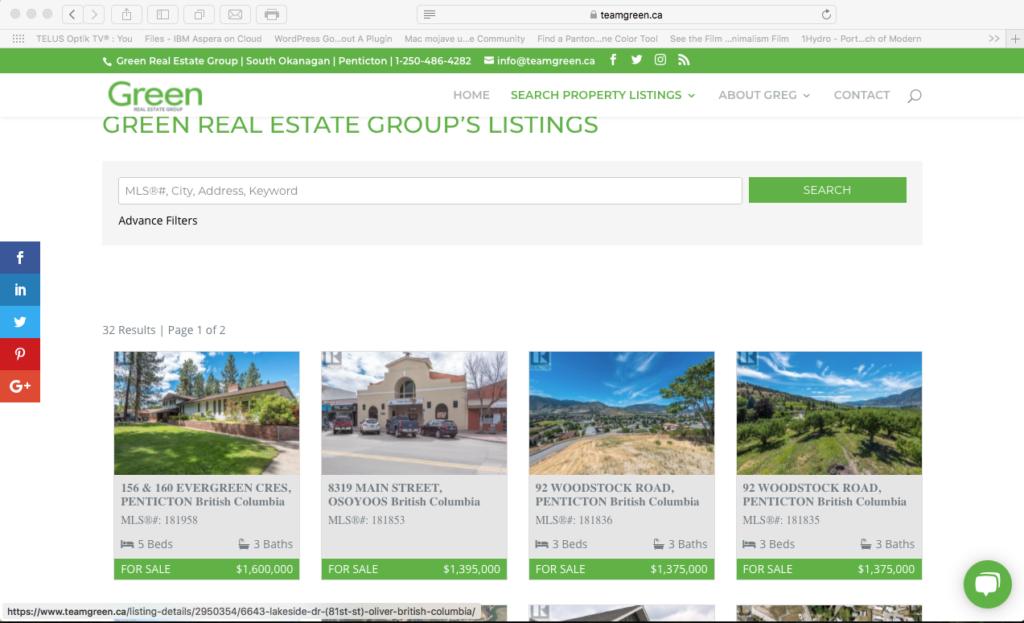 teamgreen MLS listing gallery